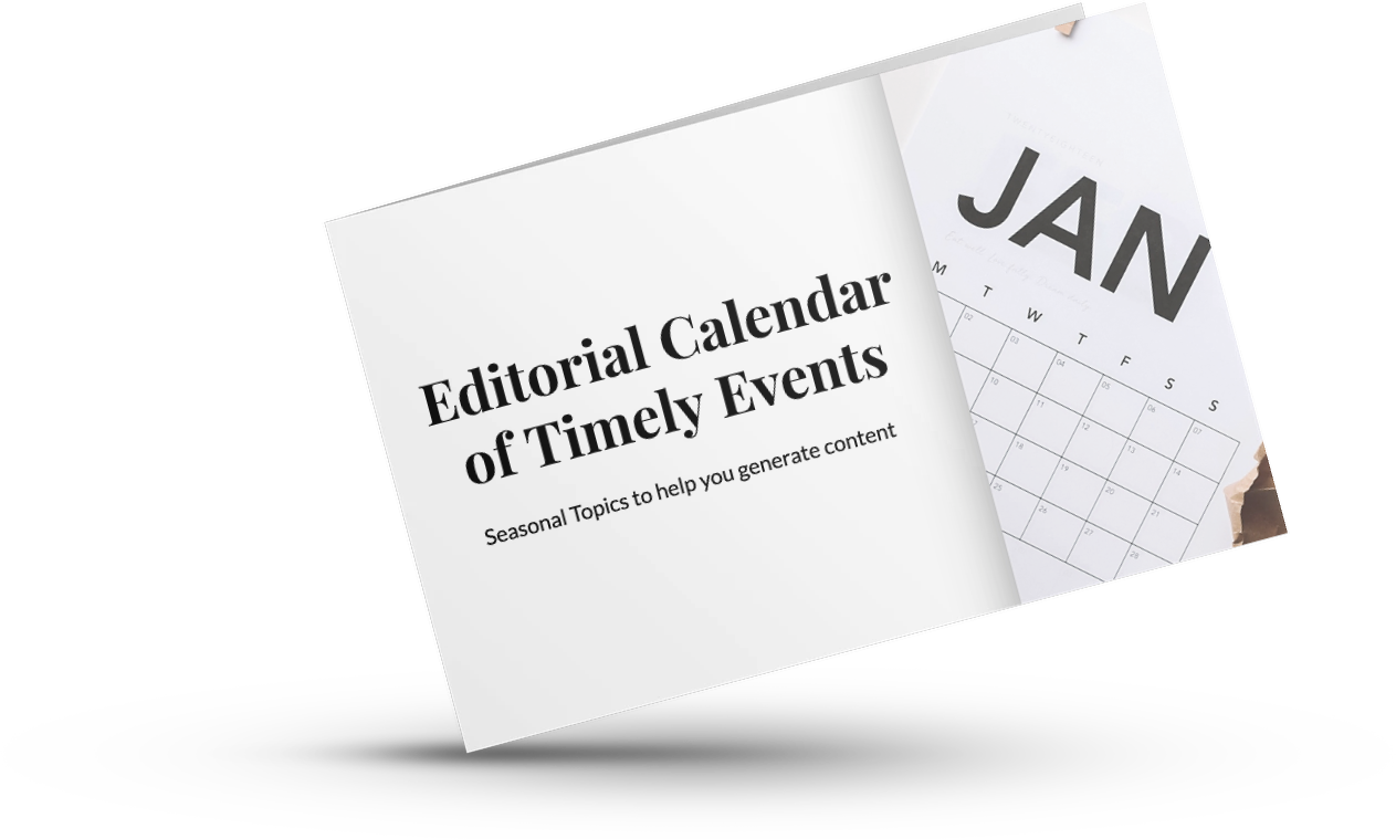 Editorial Calendar of Timely Events