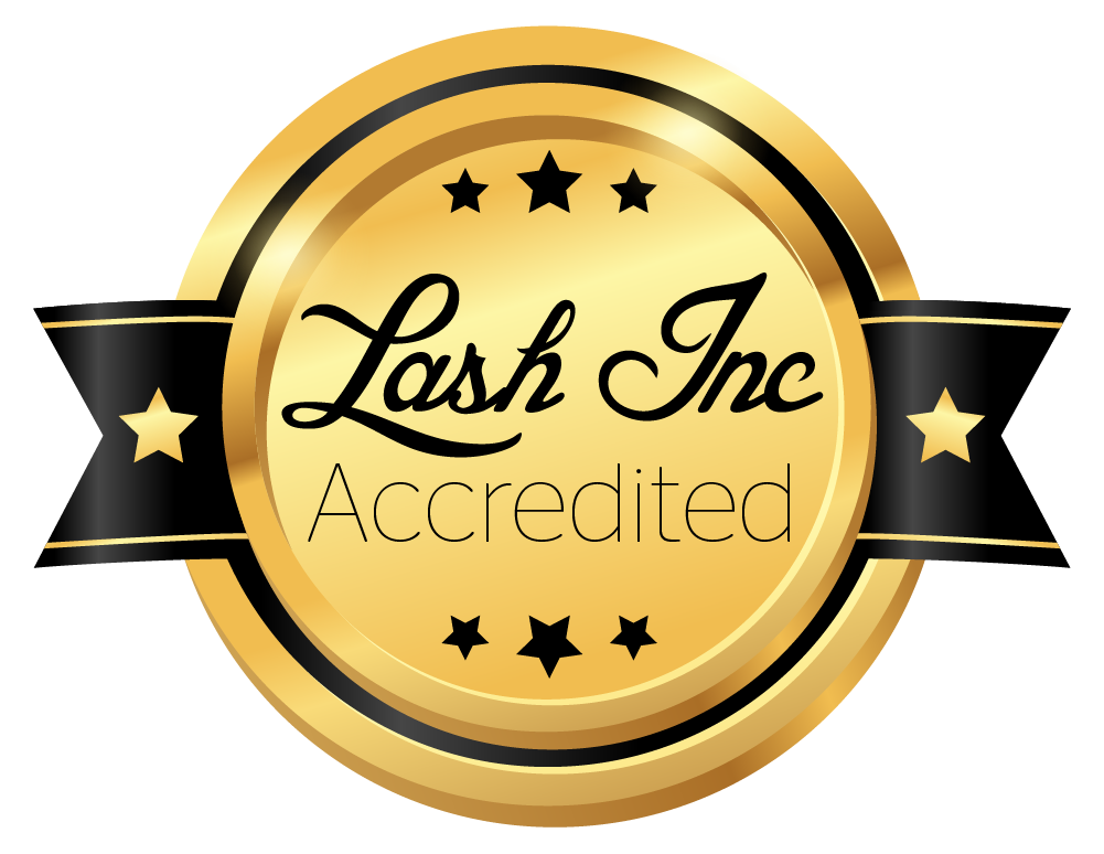Lash Inc Seal of Accreditation