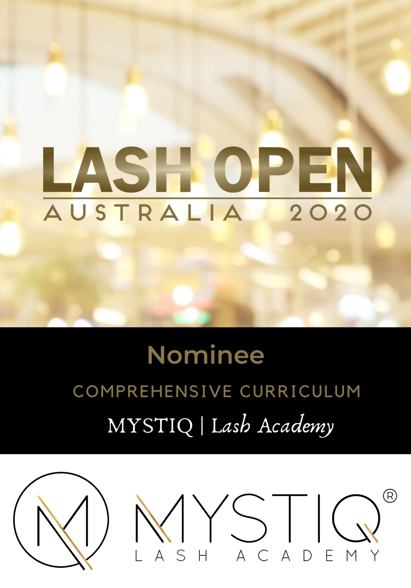 Lash Open 2020 Award Nomination - Comprehensive Curriculum