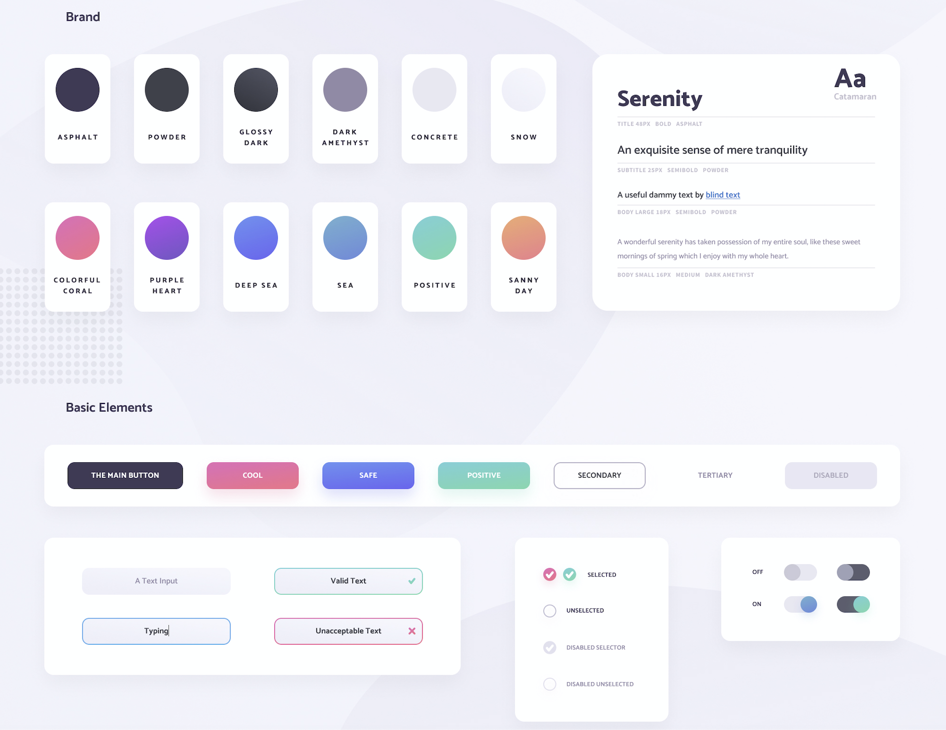 style guide ui kit  ux design
