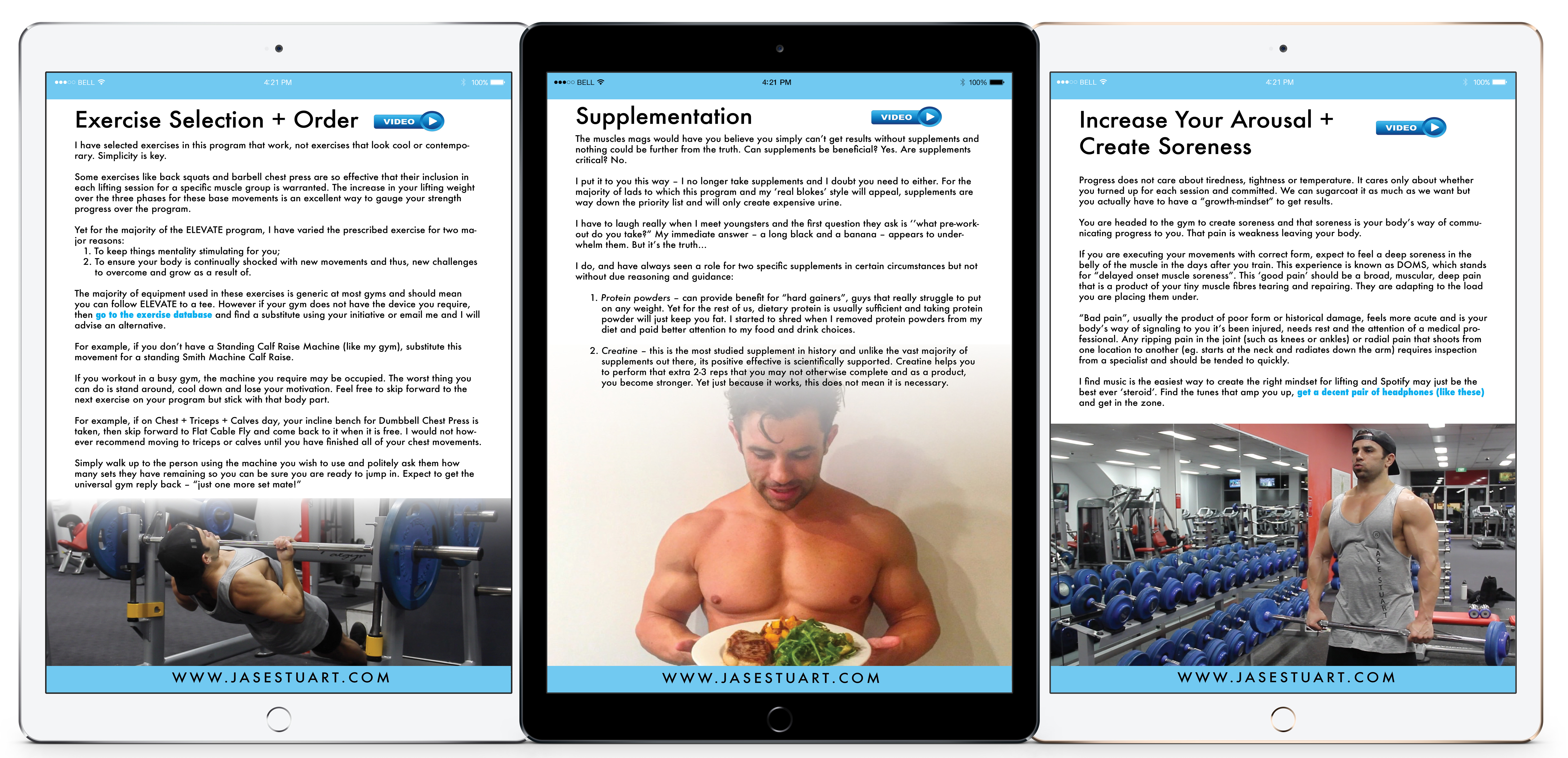 Weight Training Induction Manual