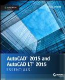 AutoCAD 2015 and AutoCAD 2015 LT Essentials book cover