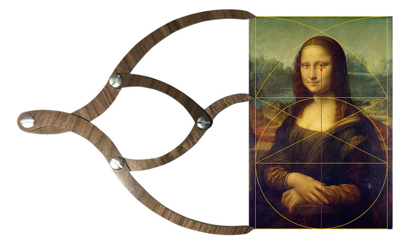 Proportioner 2.0 measuring the Mona Lisa