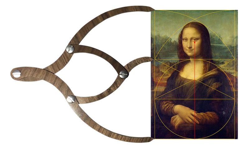 Proportioner 2.0 measuring the Mona Lisa