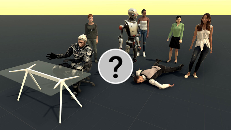 thumbnail image showing several 3d characters created in the course