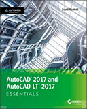 AutoCAD 2017 and AutoCAD 2017 LT Essentials book cover