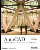 AutoCAD Professional Tips and Techniques book cover