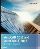AutoCAD 2012 and AutoCAD 2012 LT Essentials book cover