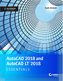 AutoCAD 2018 and AutoCAD 2018 LT Essentials book cover