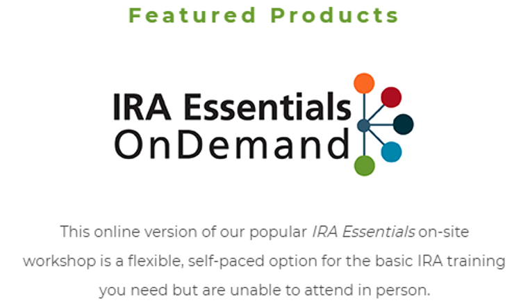 Stay Updated with IRA Compliance!