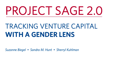 Tracking Venture Capital with a Gender Lens