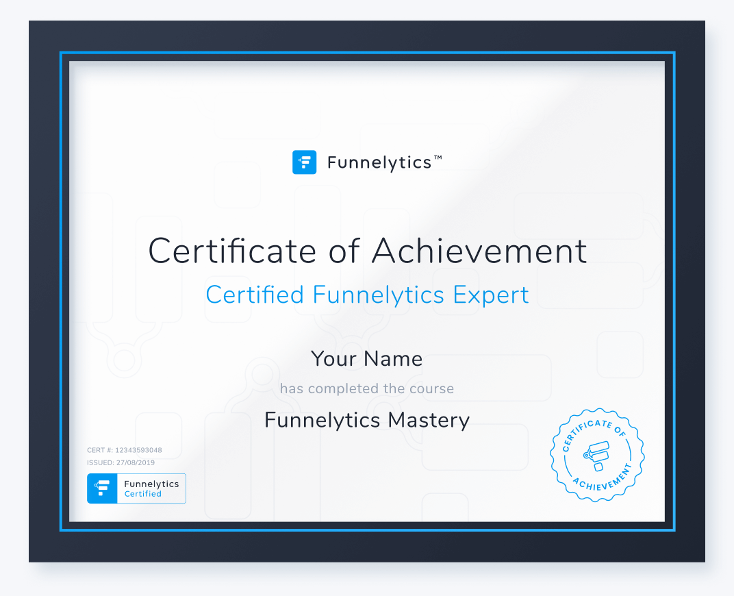 Funnelytics™ Mastery + Certification