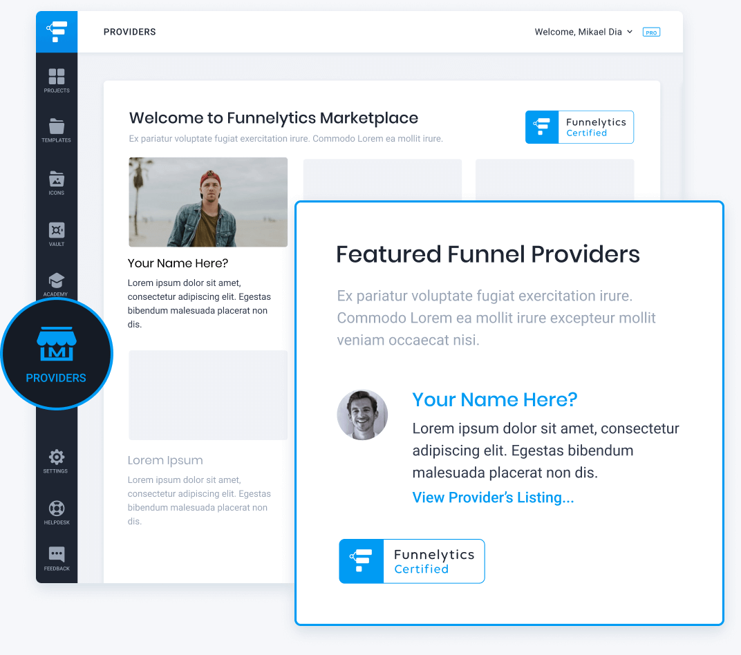 Provider Marketplace Listing