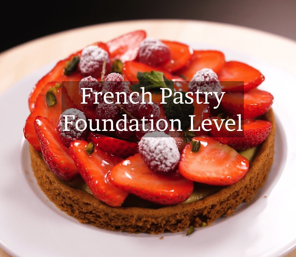 Create beautiful pastries, cakes and tarts