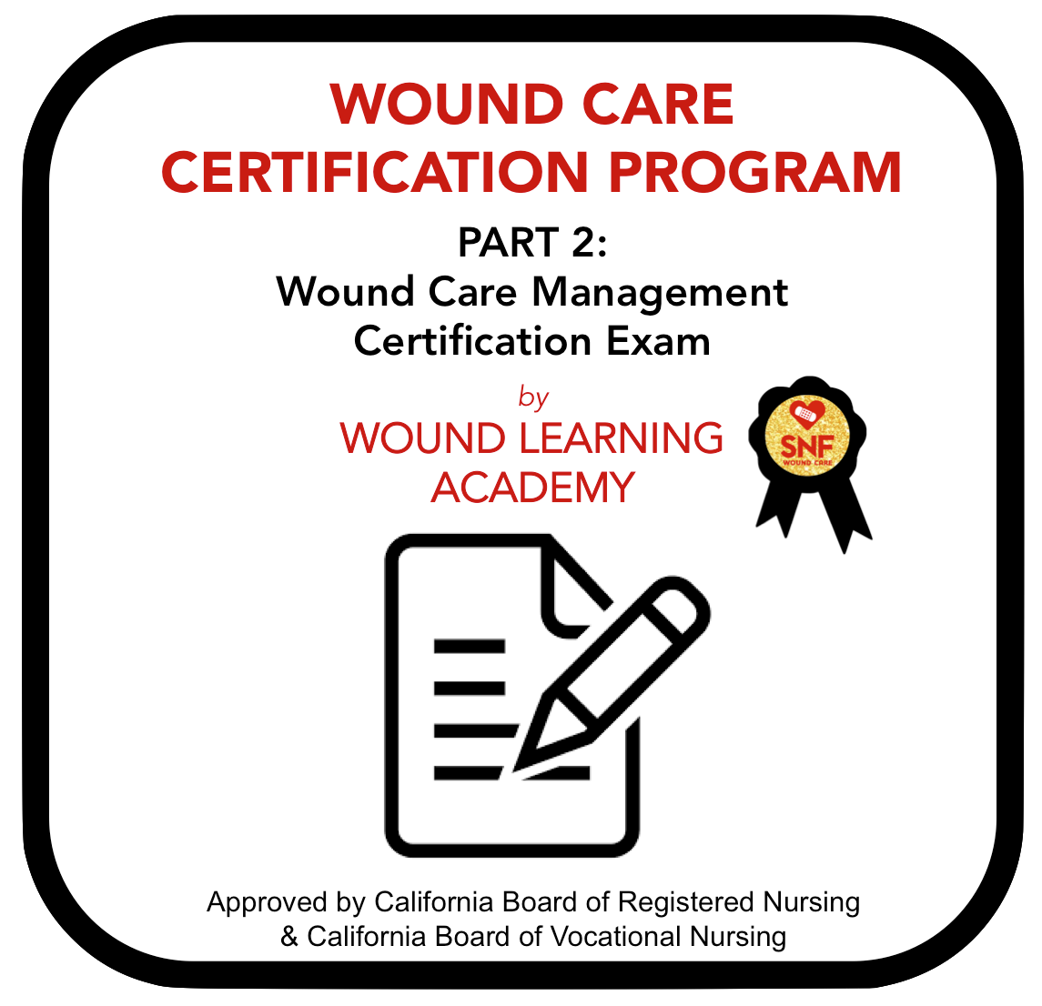 GET WOUND CARE CERTIFIED