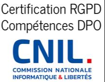 Certification RGPD compétences DPO CNIL