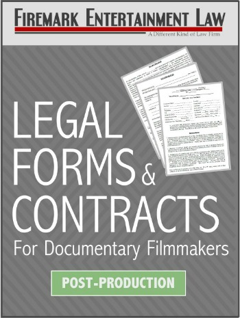 Documentary Legal Forms And Contracts PostProduction - Legal forms contracts