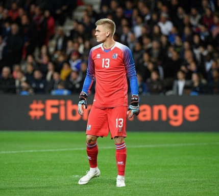 Professional Football Player at Diijon Football Club <br>and the Icelandic National Team.