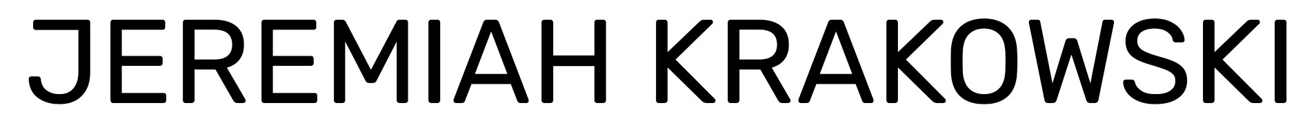 Jeremiah Krakowski Members Area