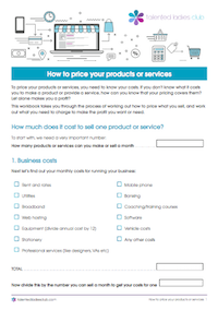GET OUR PRICING WORKBOOK