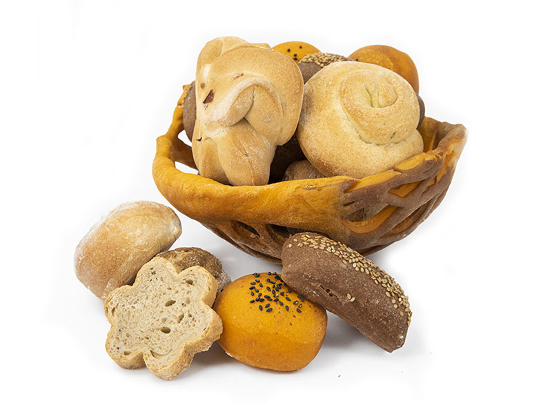 Accademia del pane mix cesto pane