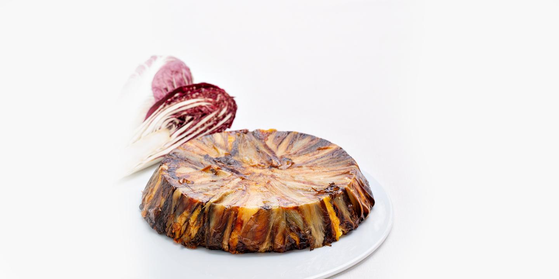 torta patate radicchio