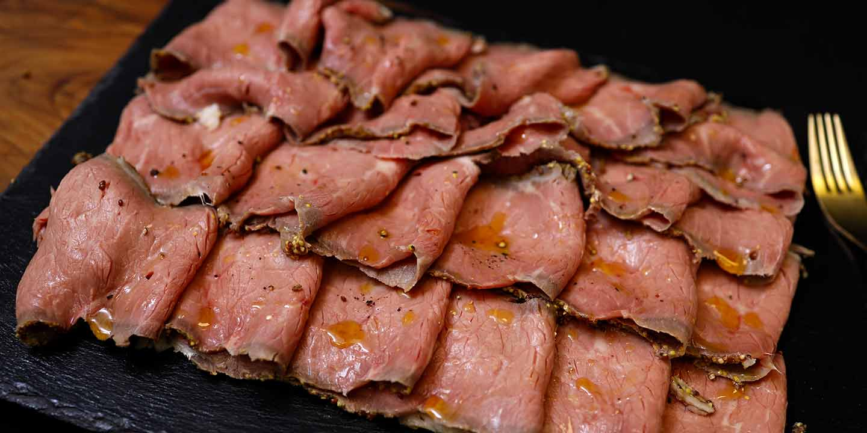 La cottura del roast beef