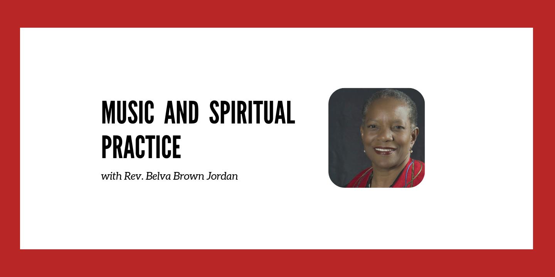 Music and  Spiritual Practice
