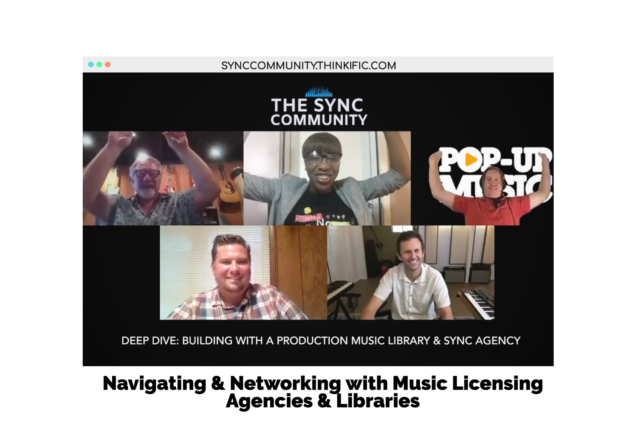Sync Community Summer Webinar Series