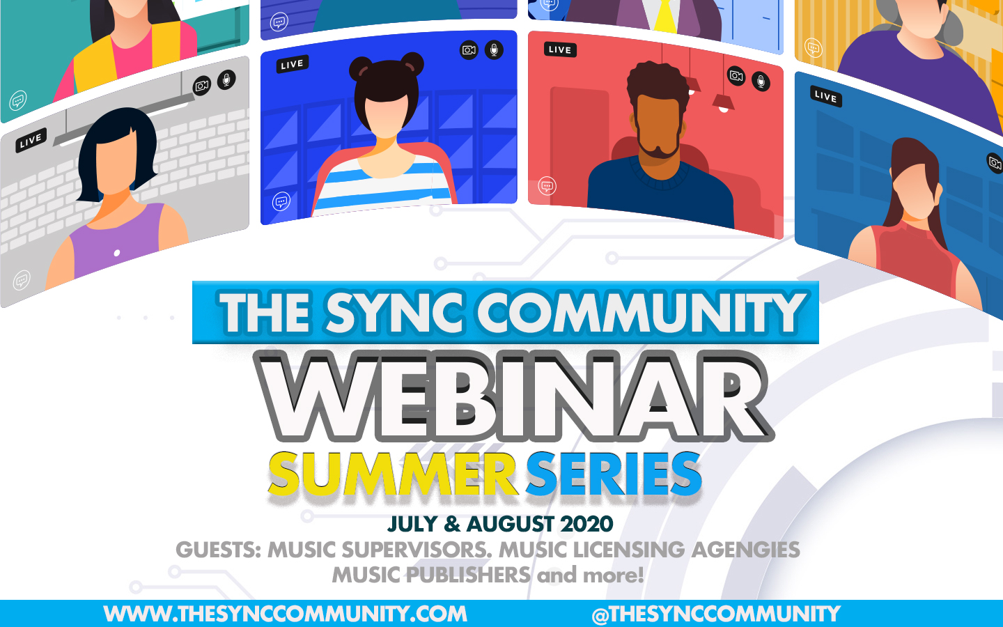 The Sync Community Summer Webinar Series