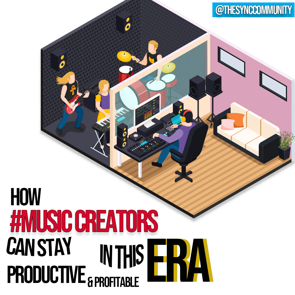 How Music Creators can Stay Productive & Profitable In This Era!
