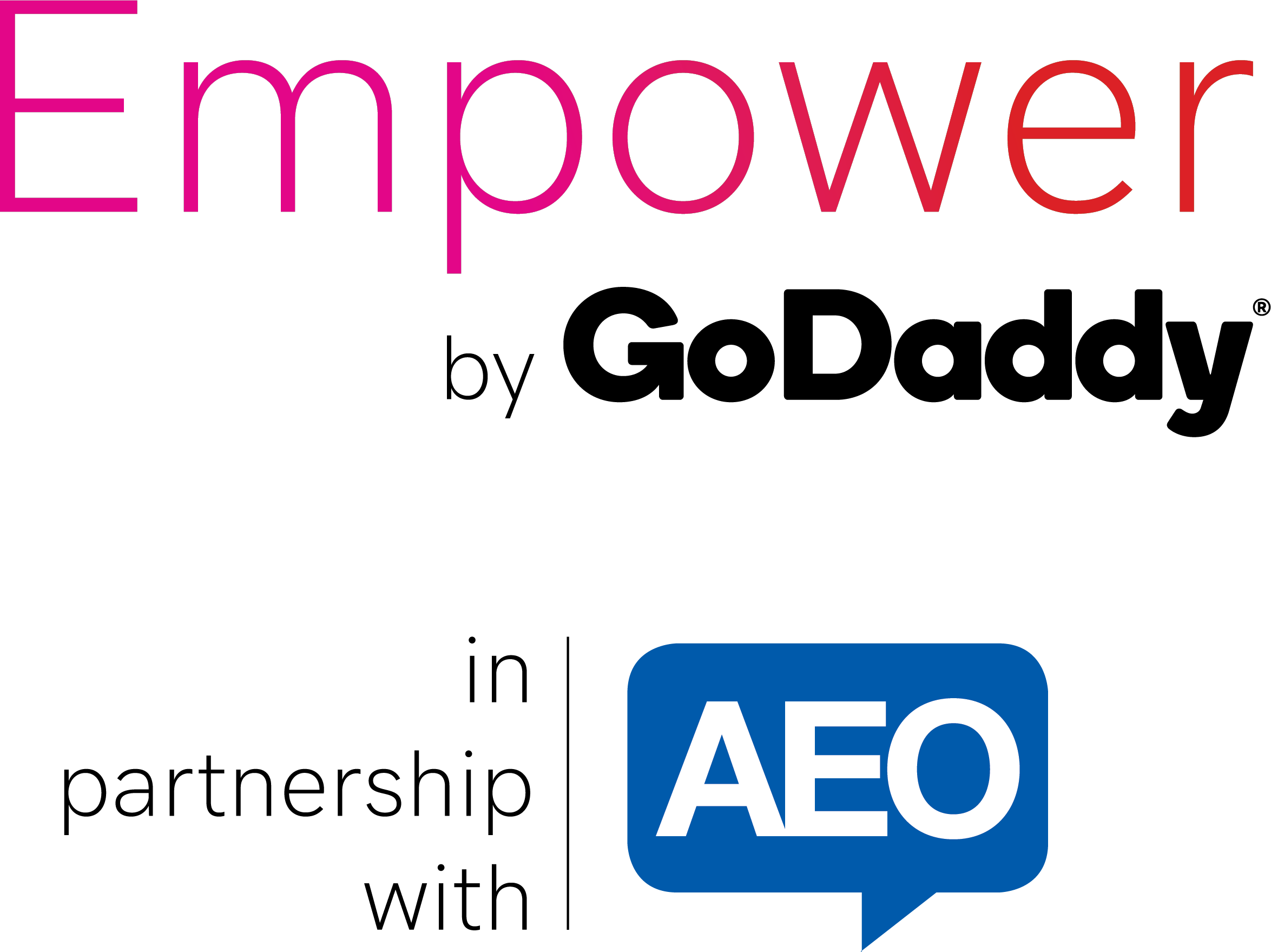 Empower by GoDaddy in Partnership with AEO