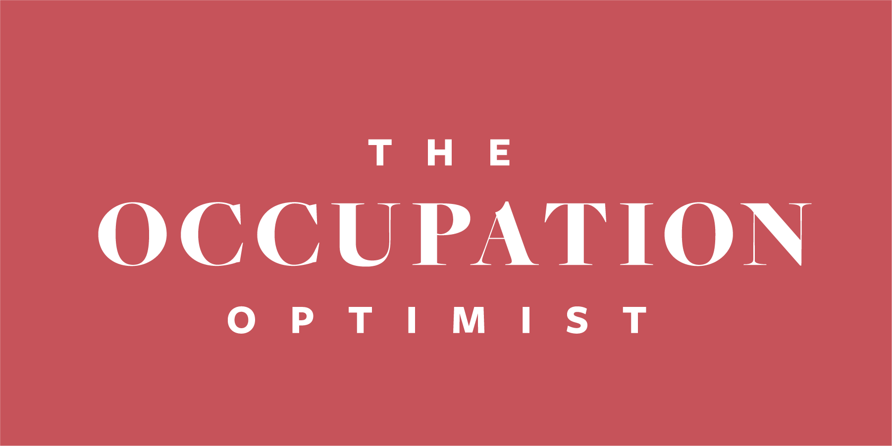 Occupation Optimist