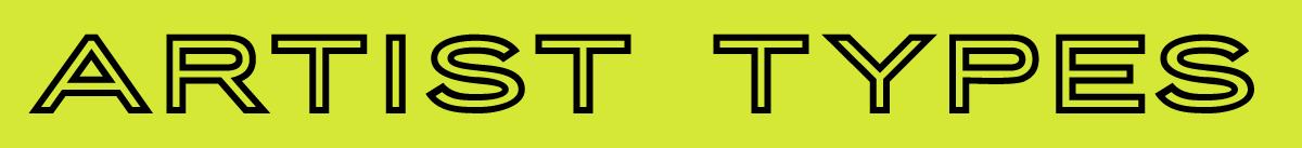 Artist Types