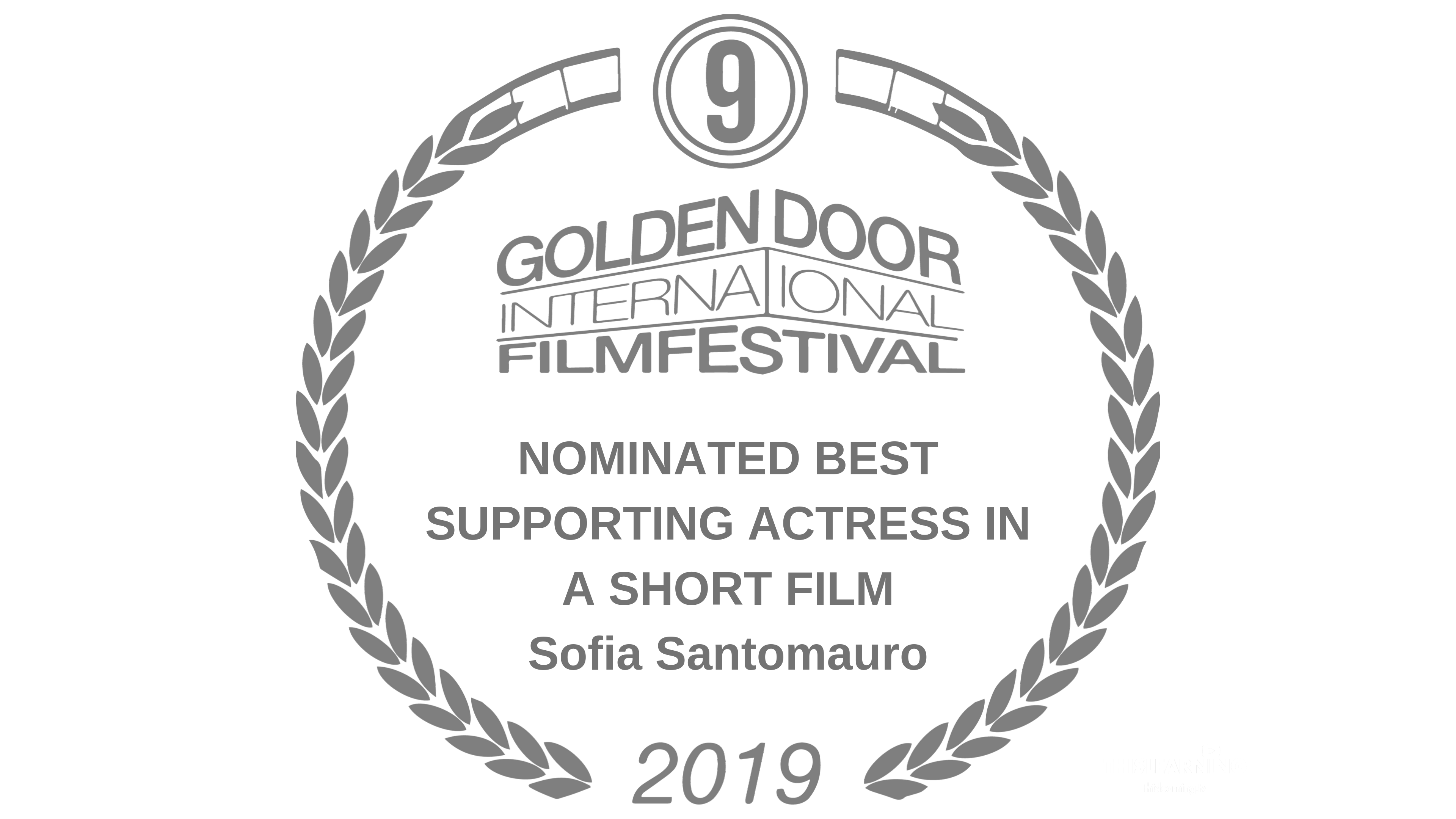 20191004A - Best Supporting Actress - Awards Only - GDIFF - LIKE US Movie - FSPAP - THISLEARNING