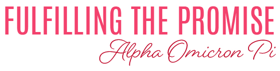 Fulfilling the Promise - Alpha Omicron Pi
