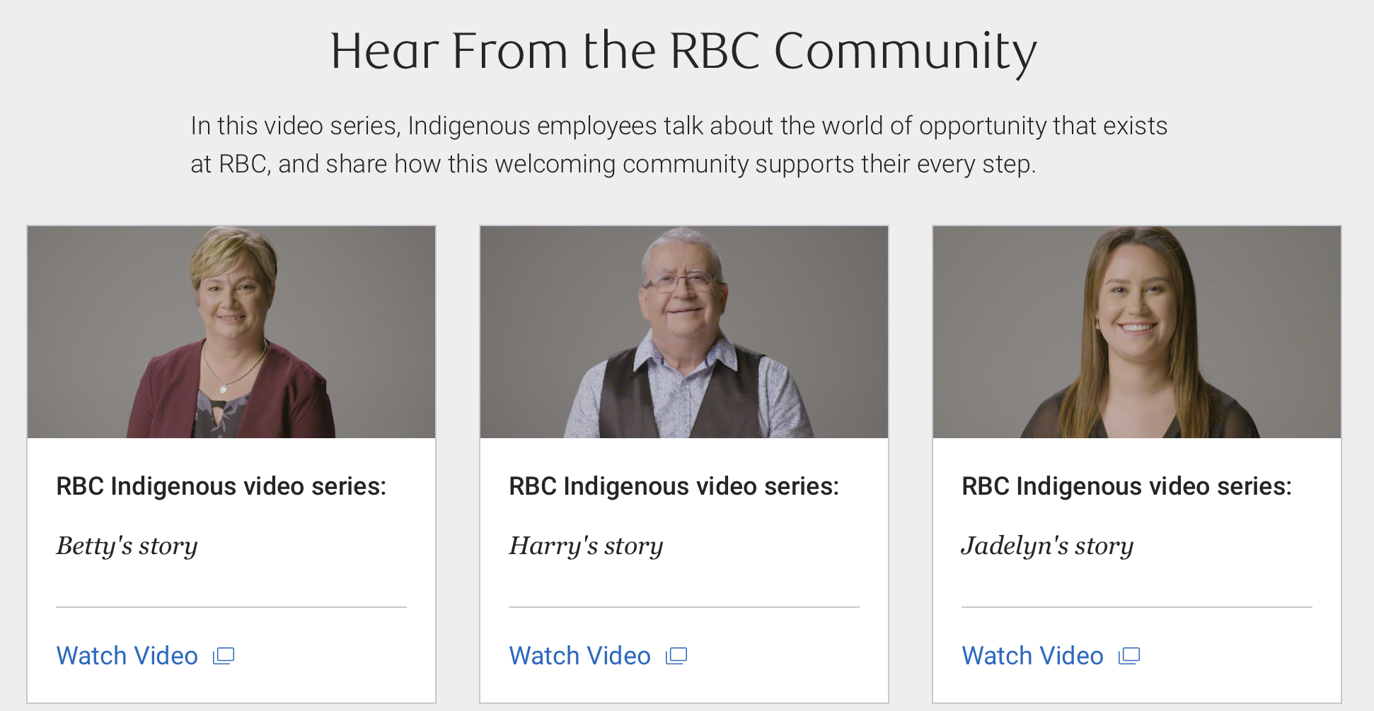 Course Integrates with RBC Indigenous Video Series