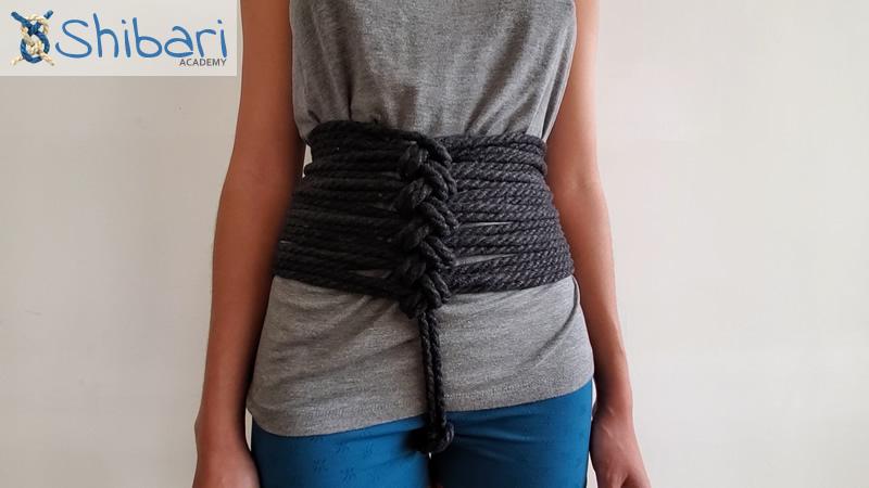 Shibari Chain Stitch Corset
