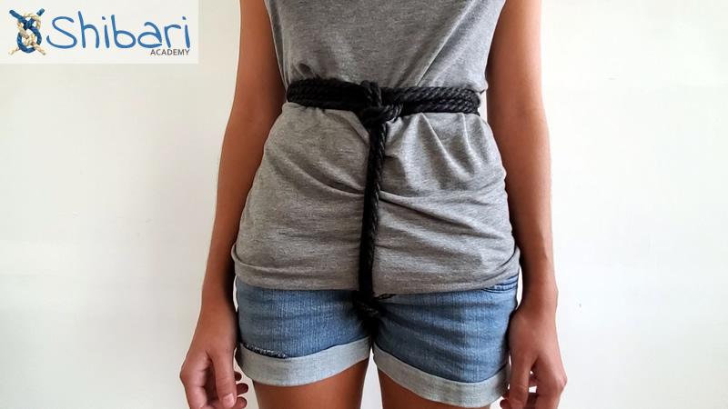 Simple Waist Harness Shibari
