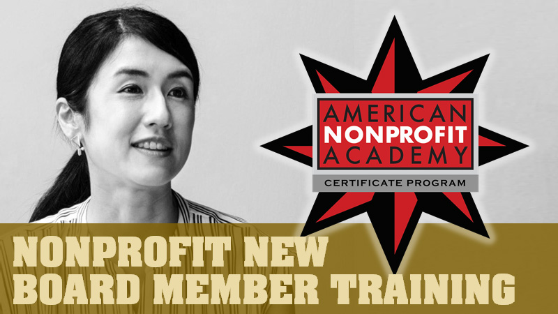Nonprofit New Board Member Training Certificate Program