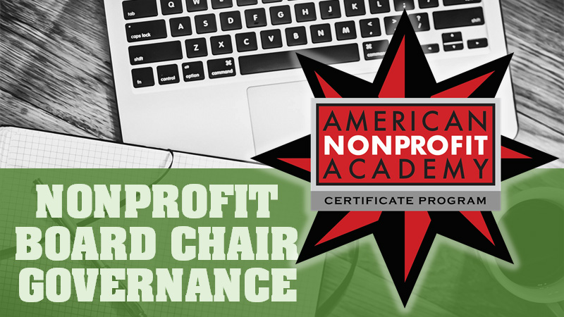 NPO Board Chair Governance Certificate Program
