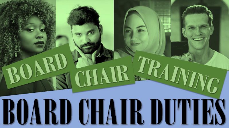 Board Chair Duties
