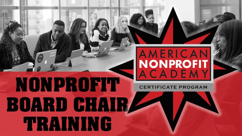 Board Chair Training Series Certificate Program