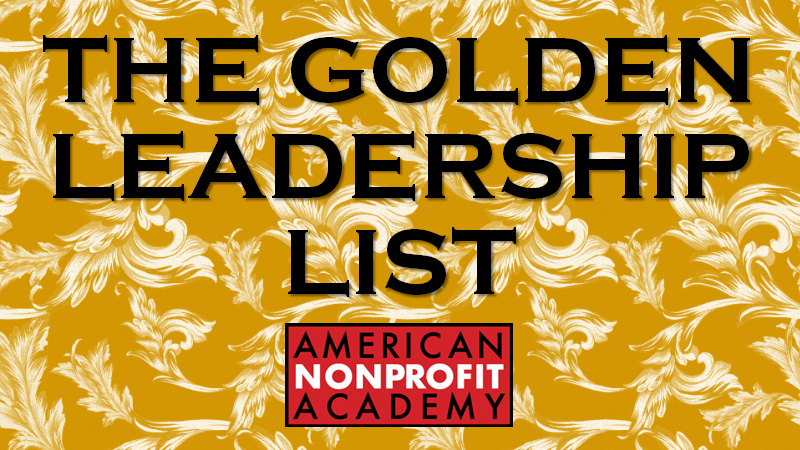 The Golden Leadership List