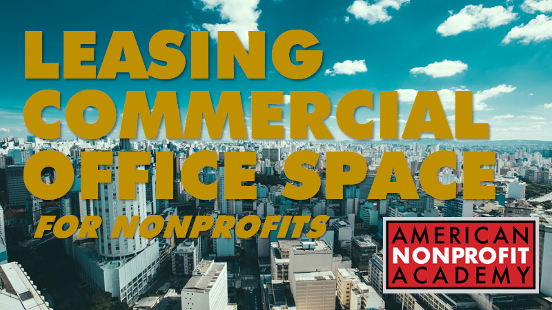 Leasing Commercial Office Space for Nonprofits