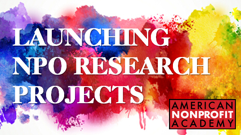 Launching NPO Research Projects
