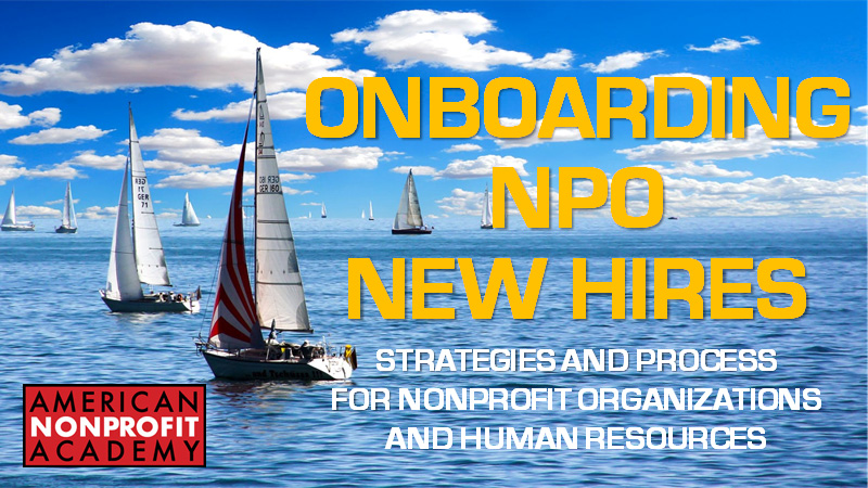 Onboarding NPO New Hires