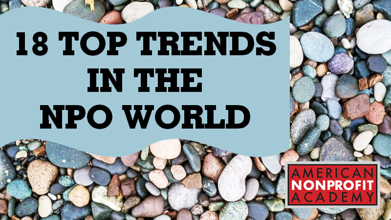 18 Top Trends in the NPO World
