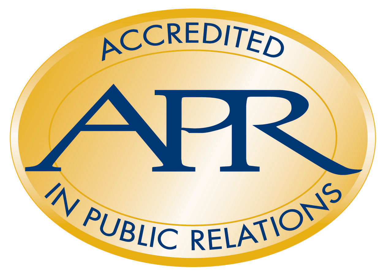 Accredited in Public Relations logo