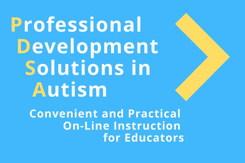 Professional Development Solutions in Autism
